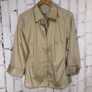 Banana Republic Classic Khaki Shirt Size XL NWT